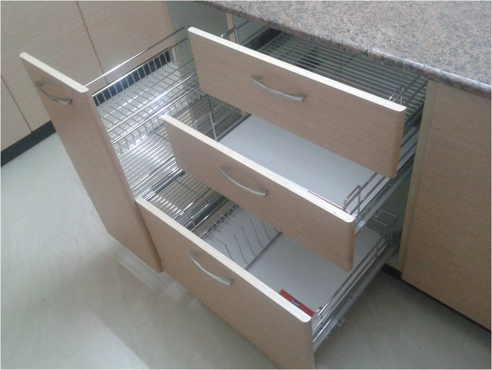 Modular Kitchen Basket Manufactures Noida